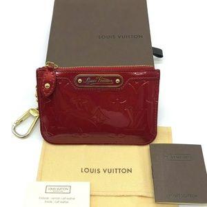 Authentic Louis Vuitton key pouch pochette